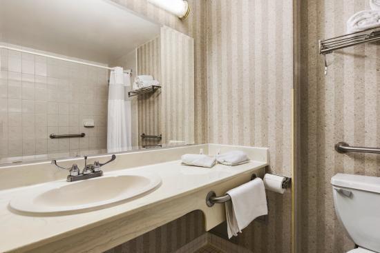 Days Inn - Toronto East Lakeview : Bathroom