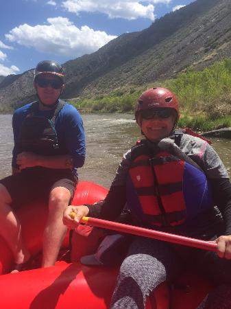Santa Fe Rafting Company: On the Rio Grande River with Santa Fe Rafting / Zack is the best!