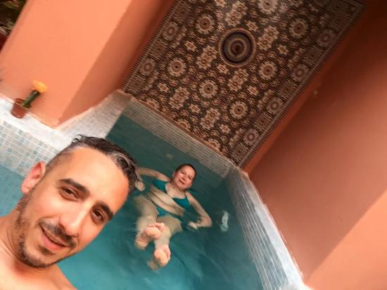 Riad La Perle de Marrakech: piscine