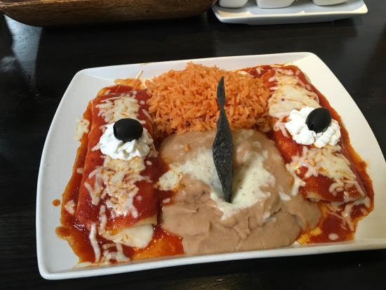San Clemente, CA: Double combination - enchiladas