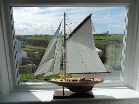 Trevenna Lodge: View from my window