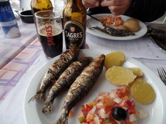 Lisboasightseeing : grilled sardines in Portimao--very tasty!