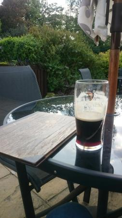 Magor, UK: Guinness in the sun