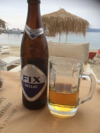 Grecce best beer with this view