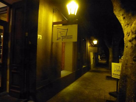 Posada Las Terrazas: La Posada de noche.