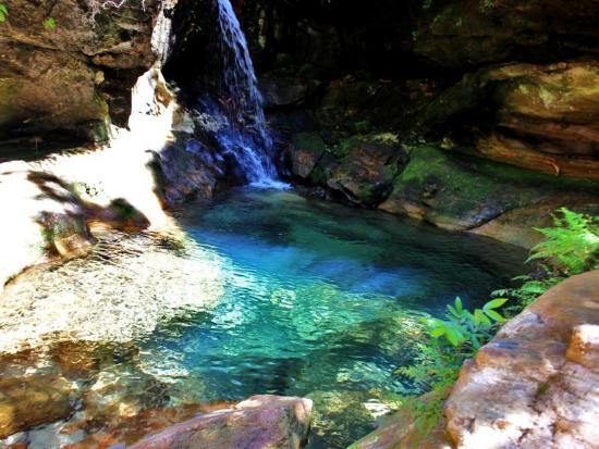 Ranohira, Madagaskar: Blue pool