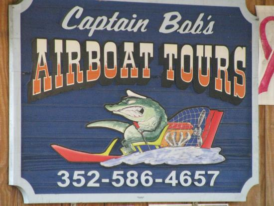‪Captain Bob's Airboat Tour‬