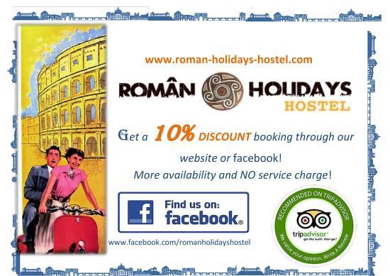 Roman Holidays Hostel: logo