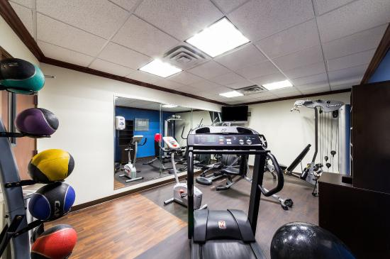 Comfort Suites Central: Fitness Room