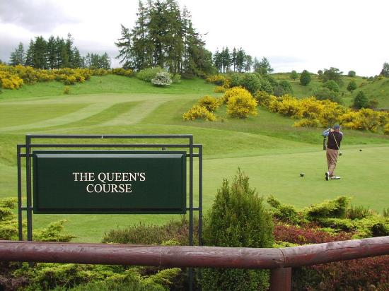 Auld Manse Guest House : Golfing nearby