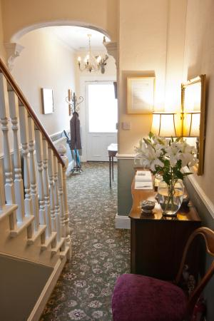 Entrance Hall at The Ness Guest House, Inverness