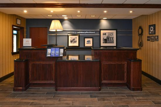 Fruitland, MD: Front Desk/Lobby