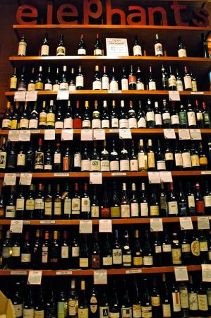 "The ""Wall of Wine"""