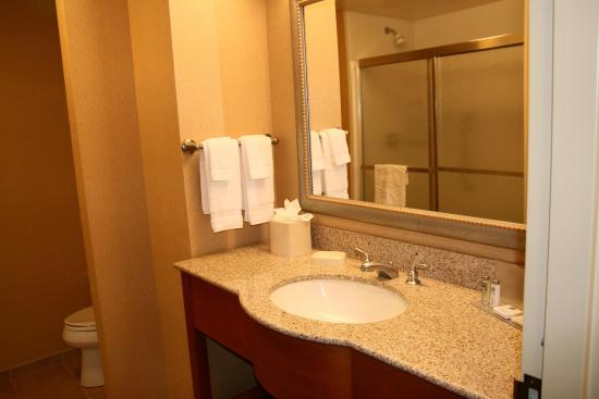 Hampton Inn Ellensburg: King Bathroom with Shower