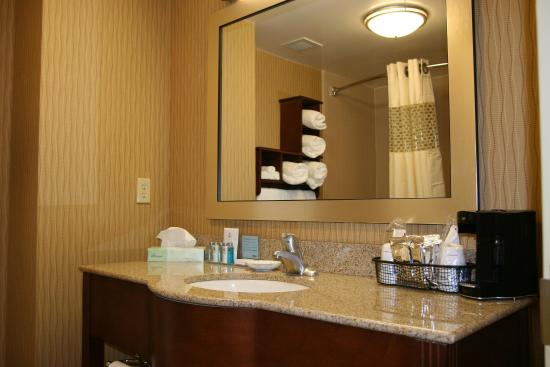 Hampton Inn & Suites Exmore - Eastern Shore: Standard Bathroom