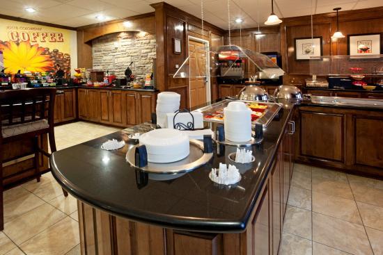 Staybridge Suites Corpus Christi: Breakfast Area