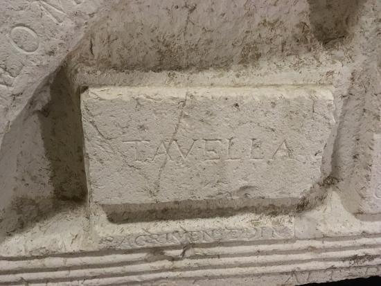 La pietra delle misure di Cervia