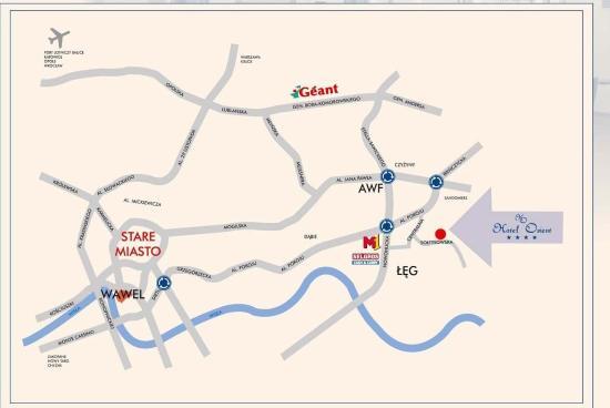 Orient Hotel : Map