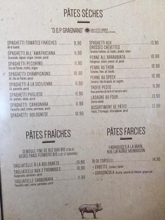 Pizza Peppone Bordeaux Carte.Ragazzi Da Peppone Photo De Ragazzi Da Peppone Merignac Tripadvisor