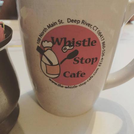 Deep River, CT: our logo and mug