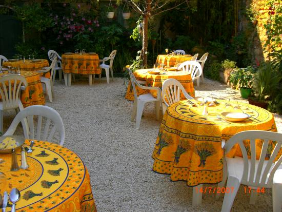 Saint-Cyprien, Frankrike: la terrasse