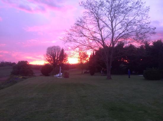 Sunset a Labarthe.