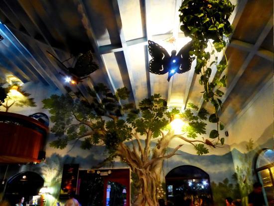 Sunset Hotel Monteverde : Morphos restaurant in Sanat Elena