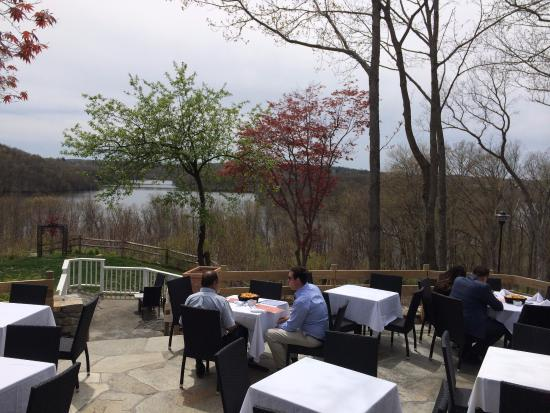 Brewster, NY: make sure to sit on the patio
