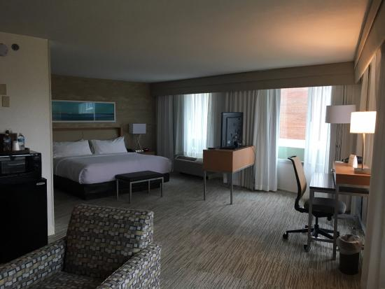 Large spacious modern rooms. This photo of Holiday Inn Washington DC-Central/White House is courtesy of TripAdvisor