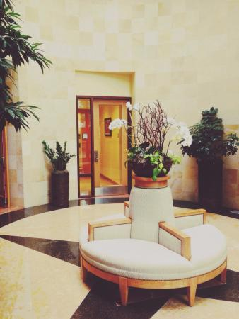 St Julien Hotel and Spa: Entrance to pool area on hotel grounds. ©Jason Z. Guest, jzguest