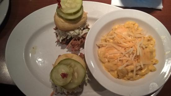 FATZ: My wife's pork sliders with macaroni and cheese side