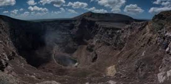Cafe Las Flores: Masaya Volcano