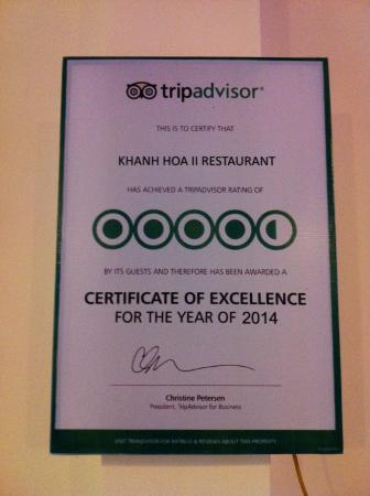 Thien Nga Hotel: Our favourite restaurant