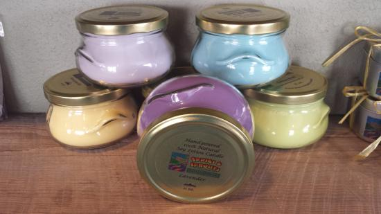 Palisade, Κολοράντο: Handmade Soy Lotion Candles
