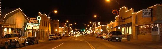 Downtown Sidney,  Nebraska