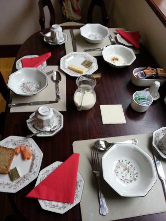 Summerville Bed & Breakfast: colazione