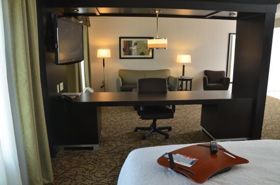 West Middlesex, Pensilvania: Double Queen Studio Suite seating area