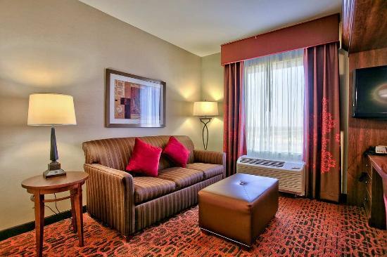 Hampton Inn & Suites Scottsdale/Riverwalk: Living Area