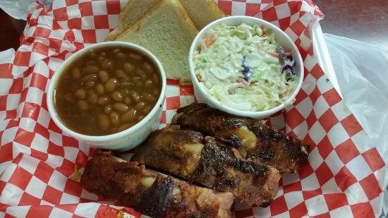 Oak Grove, MO: RIb plate and sides.