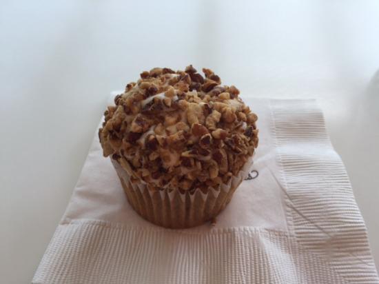 Kara's Cupcakes: Капкейк с бананом, орехами и ...очень вкусный