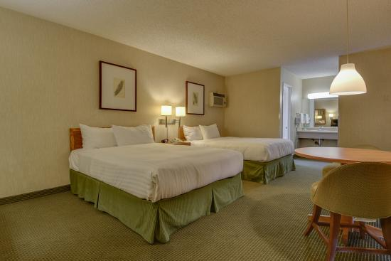 Vagabond Inn Los Angeles at USC: Two Queen Beds 4