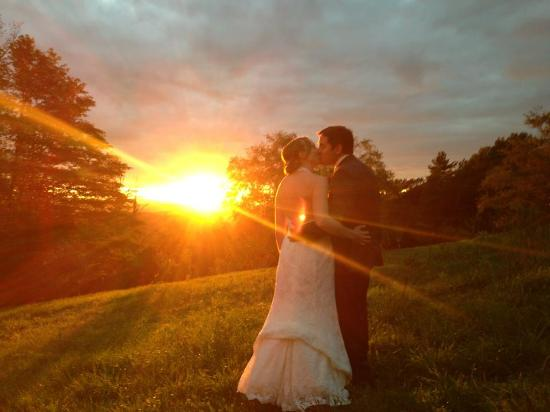 Merck Forest and Farmland Center: At our wedding reception September 2013