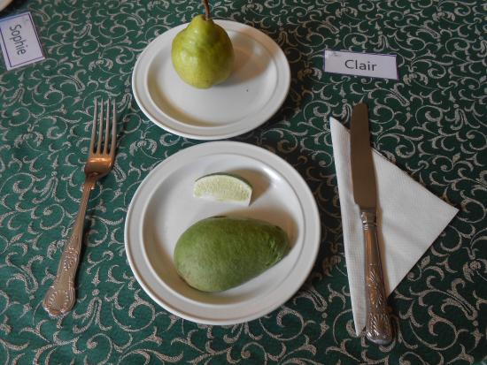 Langford Budville, UK: Pear and avocado has never tasted so good after fasting!