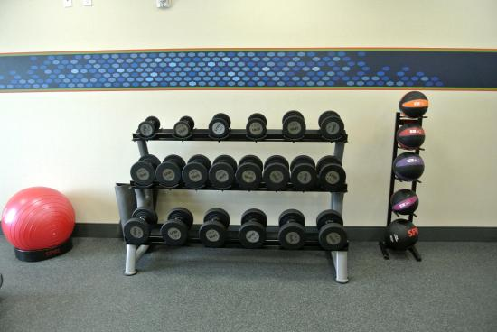 Carrizo Springs, تكساس: Fitness Center Free Weights