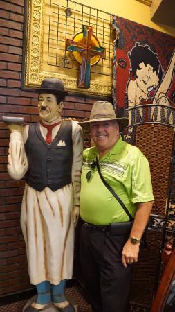 Jerome, AZ: Charlie Chaplin with me