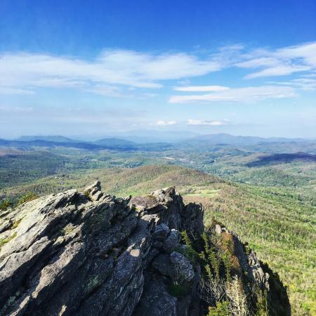 Grandfather Mountain provides a breathtaking view. An absolute must stop along the Blue Ridge Pa