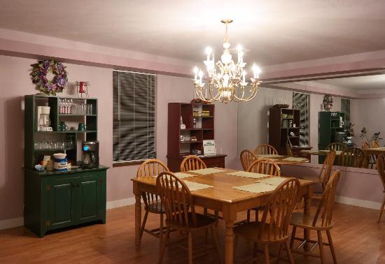 Vanderbilt, เพนซิลเวเนีย: Spotless dining room