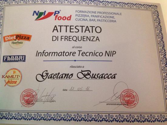 Vittoria, Italia: Informatore tecnico per NIP SRL