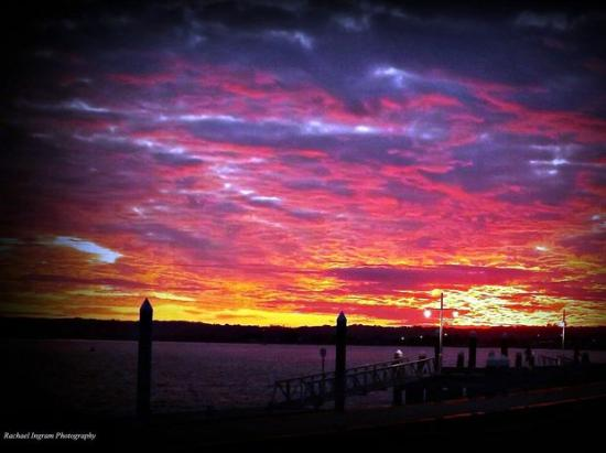 Ballina Heritage Inn: Ballina Wharf Sunset