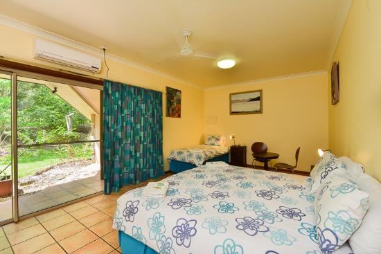 Yungaburra, Australia: Lodge king bedroom